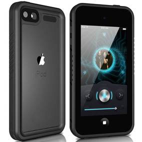 Black - For Ipod Touch 6 / 5 - Transparente Resistente -3263