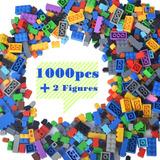 Bloques De Construcción, 1000piezas, Color Aleatorio, Fo
