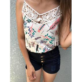 Blusa Viscose Florida - Camisetas e Blusas no Mercado Livre Brasil 5a344120259