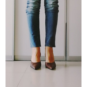 c7a676d6530 Zapatos Cerrados Color Camel - Stilletos de Mujer en Mercado Libre ...