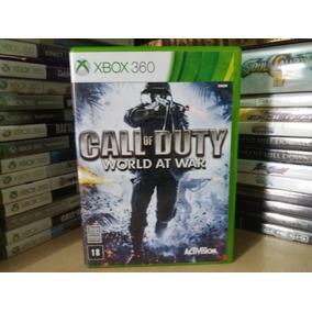 Jogo De Tiro Call Of Duty World At War Xbox 360 Original