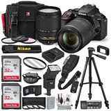 Nikon D5600 Cámara Réflex Digital Con Lente Nikkor 18-140mm