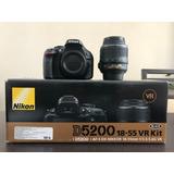 Paquete Nikon 5200 (cámara + Lentes)