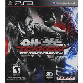 Tekken Tag Tournment 2 Ps3 Mídia Física Novo Lacrado