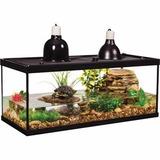 Kit Habitat Para Tortugas Todo Incluído 80 Litros Oferta