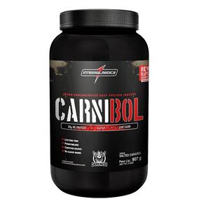 Carnibol - Proteína Da Carne - Chocolate 907g