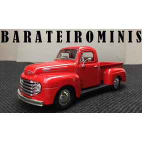 1:32 Ford F-1 1948 Red Sunnyside Barateirominis