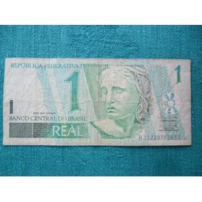 Nota De R$1,00 (um Real) Bem Conservada