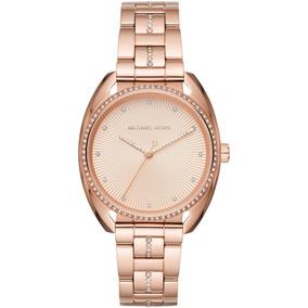 f5f0c3874b1f6 Relógio Michael Kors Mk3640 Feminino 37 Mm Dourado - Relógios De ...