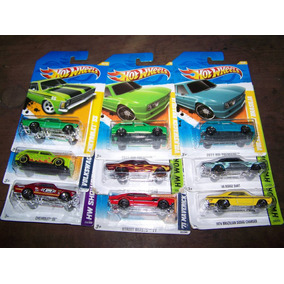 Hotwheels Brasilia Opala Dart Maverick Saveiro Charger Sp2