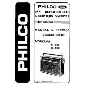 Esquema Transglobe Philco B 481 482 - Download