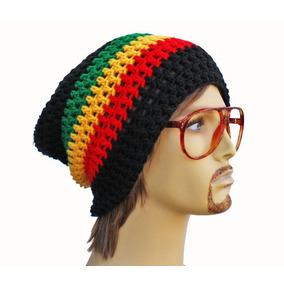 Gorro Touca Reggae Jamaica Croche Beanie Bob Marley Rasta cf1eb004703