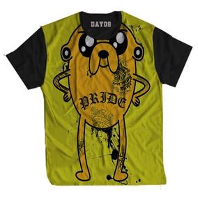 Camisas Long Line Desenhos - Camisetas e Blusas no Mercado Livre Brasil e56014ebbf0