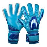 Luva De Goleiro Ho Soccer One Negative - Azul +brinde