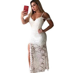 b3be5e3141e Vestido Sexy Branco Ano Novo Reveillon - Vestidos no Mercado Livre ...