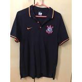 Camisa Polo Nike Corinthians League Auth no Mercado Livre Brasil dbbae789f7e04