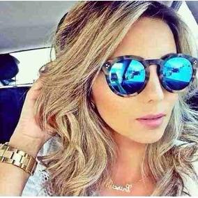 3e89f2762566b Oculos Redondo Espelhado - Óculos De Sol Illesteva no Mercado Livre ...