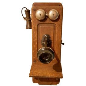 Telefone De Parede Antigo Kellog Chicago 1901 Com Discador