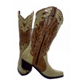 12bb2ca8d090e Territorio Do Calcado De Jau Feminino Botas - Botas Texanas para ...