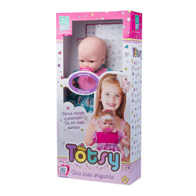 Boneca Totsy 113 Frases Sem Cabelo - Super Toys 332