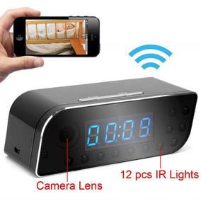 Relógio Espião Wi-fi Hd C/ Camera Ip Acesso No Celular 24h