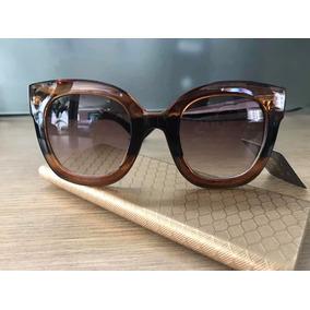8e0fb98a8c4e7 Oculos De Sol Feminino Gucci Degrade - Calçados, Roupas e Bolsas no ...
