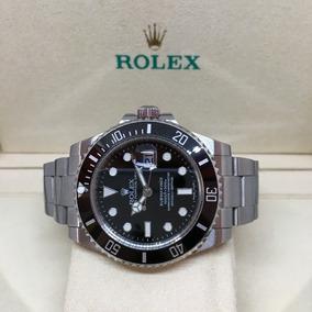 fcf31a305b4 Reloj Rolex Submariner Negro Automatico Eta Sumergible