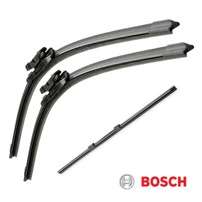 Limpador Para-brisa Bosch Fiat Punto + Refil Traseiro