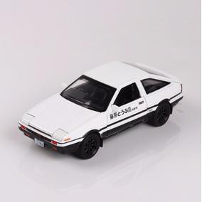Miniatura Toyota Corolla Trueno Ae86 Initial D 1:28 Drift