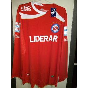 Camiseta De Argentinos Juniors 2010 Mangas Largas Nueva