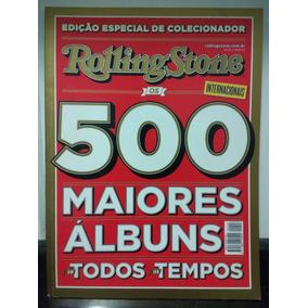 Revista Rolling Stone Especial 500 Maiores Albuns Rjhm