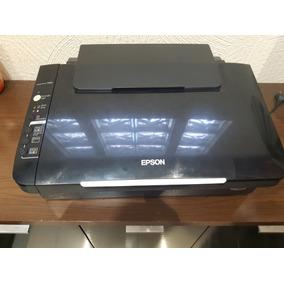 Impressora Epson Tx105 Com Cartucho Recarregável Queimado
