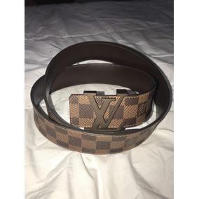e8a234537 Cinturon Louis Vuitton Hombre Original - Cinturones Mujer en Mercado ...