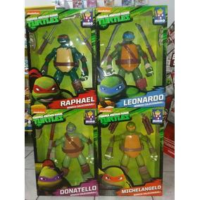 Bonecos Coleção Completa 4 Tartarugas Ninja - Mimo Original
