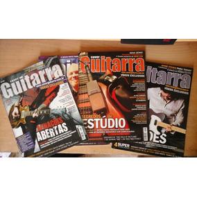 Lote Revistas 3 Cover Guitar + Bass Cover + Soundonsound