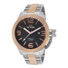 Reloj Tw Steel Plateado Acero Inoxidable Cb136 Envio Gratis