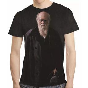 Camisa Camiseta Charles Darwin - Estampa Total