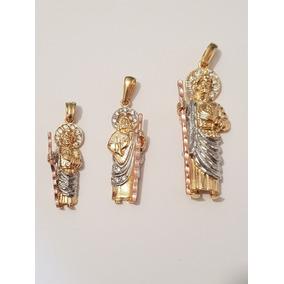 69f035305ef Dije San Judas Tadeo Oro - Dijes y Medallas en Mercado Libre México