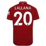 5e76062916 Camisa Lallana 20 Liverpool 2018-2019 Nova - Frete Gratis