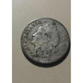 Moneda De 20 Centavos Dominicanos De 1897