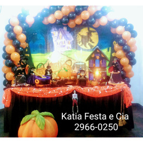 Decoração De Festa Infantil Halloween - Pegue E Faça Aluguel