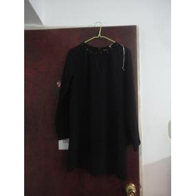 Bluson Vestido Dama Talla L Negro