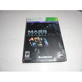 Mass Effect Triology Coleção Xbox 360 Midia Fisica Original