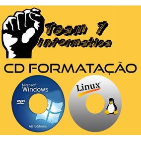 Cd Formatação - Qualquer Versão Windows Ou Linux