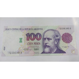 Para Coleccionista Billete 100 Pesos Primer Diseño Serie A