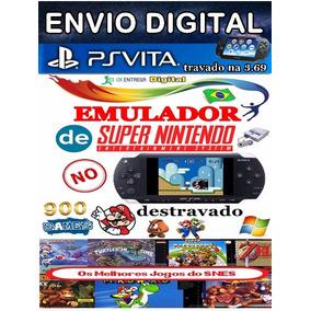 Super Emulador De Super Nintendo Para Psvita 3.69 Travado
