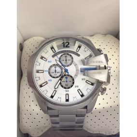 c26f7748b6f Relógio I996 Diesel Prata Fundo Branco Original Aço