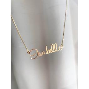 21073c28f560b Corrente Com Nome Isabella De Ouro - Joias e Relógios no Mercado ...