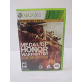 Nuevo Medal Of Honor Warfighter Limited Edition Xbox 360