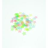 Estrellas Fosforesentes Colores 100pc Fluorescente Adhesiva